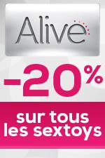 Tous les toys Alive sont � -20% !