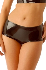 Mini short latex HotPants - Mini short moulant en latex haute qualit�.