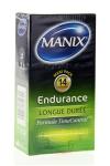 Pr�servatifs MANIX endurance x14