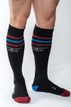 Chaussettes de sport haute qualité, by Mister B (version noire).