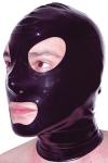 Cagoule latex : Cagoule latex haute qualit�, ouvertures pour les yeux et la bouche et orifices de respiration aux narines.