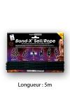 Corde de bondage Bond-X - 5 m - Cordage en coton spécial bondage