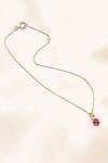 Chaine de cheville Cristal rose - Un Cristal rose sur une chaîne fine et délicate pour parer votre cheville.