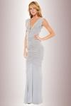 Robe longue Selene - Une seule robe longue pour 4 possibilit�s d'ajustement : nou�e, d�collet�e, amazone ou bustier.