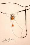 String Scarab�e Sacr� - argent