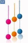 Funky Love balls - ToyJoy présente les boules de geisha aux coloris Funky et au prix Rikiki!