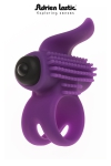 Bullet Lastic ring - Anneau vibrant pour couple ou mini stimulateur, le Bullet Lastic ring c'est 2 sextoys en 1.