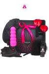 Coffret Pink Box Adrien Lastic - Glamour et coquin, voici le coffret cadeau  version Pink d'Adrien Lastic.