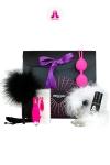 Coffret Purple Box Adrien Lastic - Glamour et coquin, voici le coffret cadeau  version Purple d'Adrien Lastic. sp�cial Plaisir f�minin.