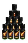 Poppers Sexline  (pack de 10) - SexLine, votre poppers de r�f�rence en lot de 10 flacons � prix exceptionnel!
