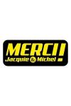 Autocollant J&M 13 x 5,2  cm - Le sticker de Jacquie & Michel � coller o� vous voulez.
