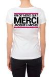 Tee-shirt  J&M blanc - sp�cial  femme