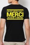 T-shirt Jacquie & Michel Jaune fluo