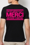 T-shirt Jacquie & Michel Rose fluo