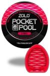 Zolo 8-Ball - Masturbateur de poche Pocket Pool �  8-Ball de marque Zolo, avec texture form�e de nervures profondes.