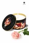 Bougie de massage Lueur et caresses - Shunga - Vanille, rose, Lavande ou fruits exotiques, Choisissez votre bougie de massage Shunga parmi ces 4 parfums.