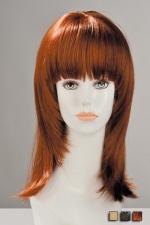 Perruque Salom� - Perruque aspect cheveux naturels, � la coupe effil�e volumineuse tr�s f�minine.
