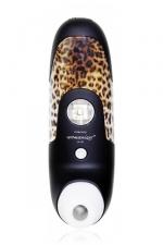 Stimulateur de Clitoris Womanizer Black - Le stimulateur clitoridien ultime Womanizer W100 coloris noir et panth�re.