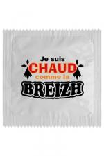 Préservatif humour - Chaud Comme La Breizh - Préservatif  Chaud Comme La Breizh , un préservatif personnalisé humoristique de qualité, fabriqué en France, marque Callvin.