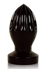 Plug anal presse-citron - Stimulateur anal g�ant en forme de presse-agrumes, gamme  All Black .