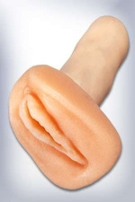 Clone de poche  jelly - Voici le sexe f�minin de poche; un petit clone imitant de mani�re tr�s r�aliste les grandes l�vres et l'orifice vaginal.