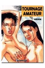 Tournage amateur - Pour son premier tournage porno amateur, Aur�lie d�couvre la sodomie.