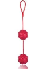 Boules de Geisha Sweet Hearts - Des boules de Ge�sha fantaisie gourmandes, avec de d�licieux reliefs en forme de coeur.