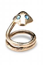 Anneau de p�nis Bira - Un cobra en bronze pr�t � bondir pour enserrer votre gland et hypnotiser votre entourage.
