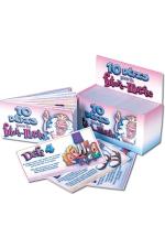 10 D�fis Future Mari�e - Accompagnez votre soir�e d'enterrement de vie de jeune fille avec ce carnet de 10 d�fis !