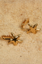 Clips intimes Etoiles de mer - Or - Clips intimes indolores no-piercing, des �toiles d'Or � vos l�vres.