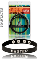 Collier Master Spartacus - Un collier en cuir pour montrer qui est le Ma�tre.