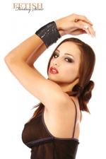 Ruban BDSM noir - Attachez, d�tachez, recommencez � volont�... avec ce ruban de bondage non collant et r�utilisable.