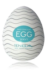 Tenga Egg Wavy - Egg Wavy, un masturbateur de nouvelle g�n�ration  en forme d'oeuf, sign� Tenga, le g�nial fabricant japonais.