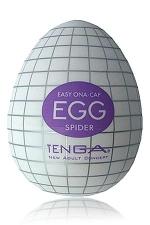 Tenga Egg Spider - Egg Spider, votre pi�ge � plaisir! un masturbateur de nouvelle g�n�ration  en forme d'oeuf, sign� Tenga.