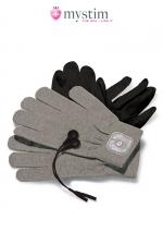 Mystim Magic Gloves - Paire de gants de stimulation par impulsion �lectrique pour atteindre de nouveaux sommets de plaisir!