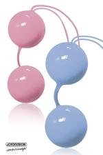 Joyballs tender - boules de geisha - Boules de ge�sha haute qualit� en silicone m�dical fournies avec une housse de rangement.