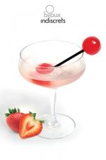 Sucette Bi - Sucette � partager saveur fraise, vin p�tillant. Une invitation � toutes les gourmandises !