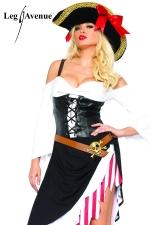 Costume sexy Pirate - Le Pirate au f�minin, gare � l'abordage !