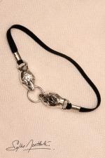 Bracelet de sexe Serpents - argent - Bracelets de sexe t�tes de serpents, orne d'argent vos attributs virils.