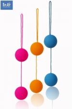 Funky Love balls - ToyJoy pr�sente les boules de geisha aux coloris Funky et au prix Rikiki!