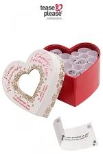 Mini coeur chaudes soir�es d'hiver - 21 d�fis �rotiques pour passer un hiver tres tres HOT!