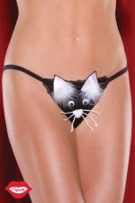 String musical Kitty Cat - String musical Chatte, trouverez-vous le point de pression qui la fera miauler ?