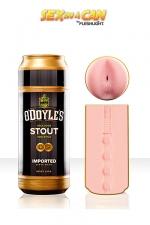 Sex In a Can - O'Doyle's Stout - Masturbrass�e en Irlande pour vous guider votre plaisir vers les contr�es interdites.