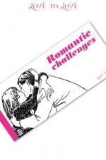 Carnet Romantic Challenges : 20 Challenges  � partager pour des moments tr�s �rotiques.