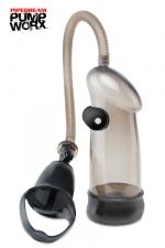 Pompe Vibrating Sure Grip - Pipedream - Une pompe � utiliser d'une seule main avec fonction vibromasseur pour des sensations explosives!