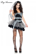 Costume Mari�e mort-vivante - Soir�e costum�e pour Halloween ? Restez sexy avec ce costume de Mari�e mort-vivante.