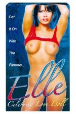 Poup�e Elle Celebrity : Une Poup�e gonflable sexy et taille r�elle avec 3 orifices.