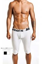 Athletic Boxer microfibre MaleBasics : Boxer en microfibre mi-long, tout le style d'un dessous masculin sportif.