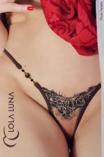 String Natacha : String Lola Luna, composition sensuelle et �rotique esprit haute couture.