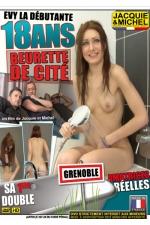 Evy 18 ans - sa 1ere double - DVD sp�cial amatrices avec Evy, une beurette de Grenoble de 18 ans qui se lache sexuellement.